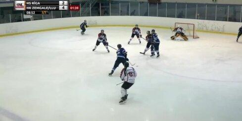 Optibet Hokeja līgas 2. kārtas labākie vārtu guvumi