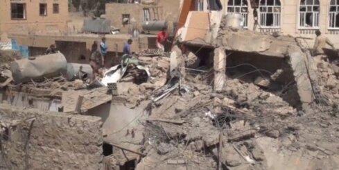 Mošejā Jemenas galvaspilsētā nogrand sprādziens