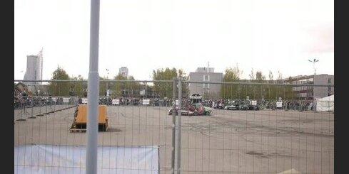 'Monstertruck' šova ātrās beigas!