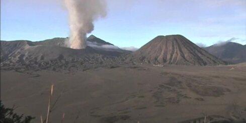 Vulkāna aktivitātes dēļ Indonēzijā evakuēti vairāk nekā 1200 cilvēku