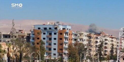 ASV: Sīrijā Asada spēku gaisa triecienos vairāk nekā 30 nogalināto