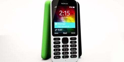 'Nokia' radījusi vislētāko mobilo tālruni ar pieeju internetam