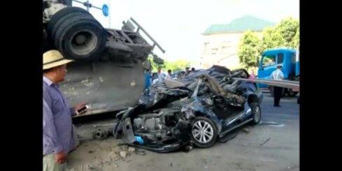 Ķīnā cementa vedējs samīca vieglo auto