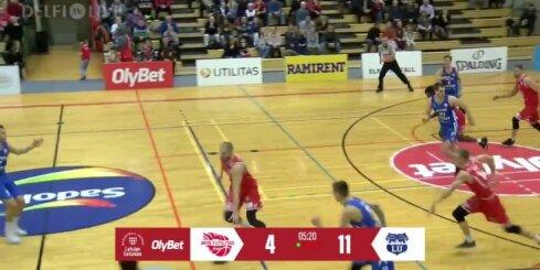 'OlyBet' basketbola līga: 'Avis Utilitas' - LU