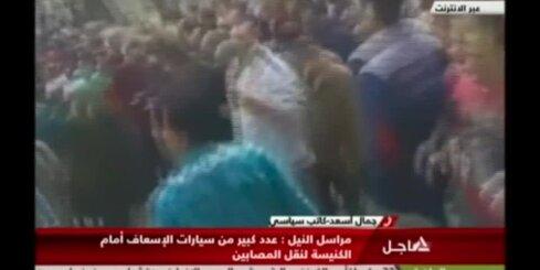 Sprādzienā kristiešu koptu baznīcā Ēģiptē nogalināts 21 cilvēks