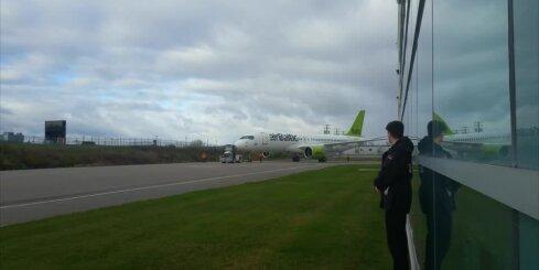 Jaunā 'airBaltic' lidmašīna
