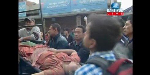 Spēcīga zemestrīce satricina Nepālu; vairāk nekā 100 bojāgājušo