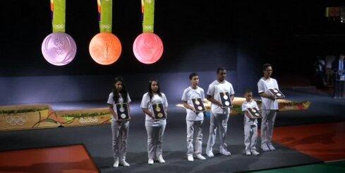 Prezentētas 2016. gada Riodežaneiro olimpisko spēļu medaļas
