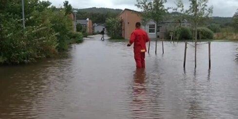 Zviedrijā izcēlušies pamatīgi plūdi