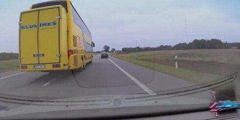 Agresīvs satiksmes autobuss
