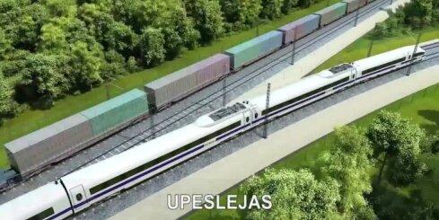 Vides pārraugi ļauj virzīties tālāk ar projektu 'Rail Baltica'
