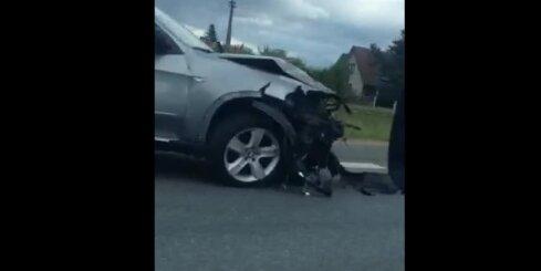 Vēl viena smaga autoavārija uz Bauskas šosejas