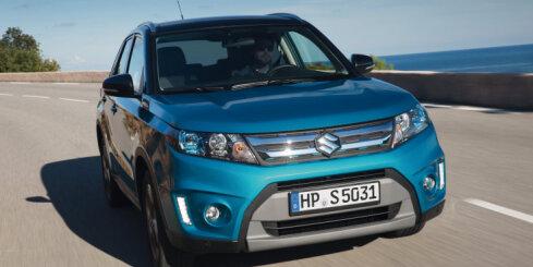 Jaunais 'Suzuki Vitara' apvidnieks