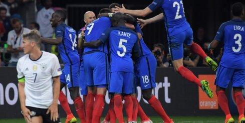 Francijas futbola izlase: svētdien jāpabeidz iesāktais