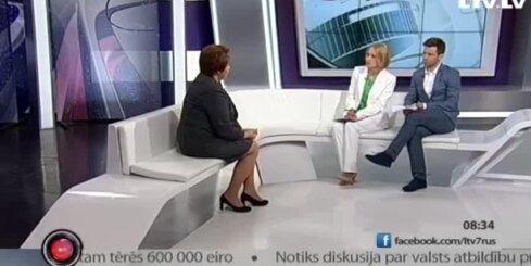 Вике-Фрейберга вновь может стать президентом Латвии
