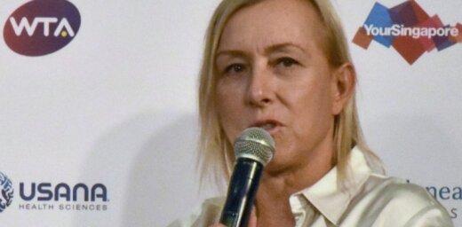 Čehijā izlaidīs tenisa leģendai Navratilovai veltītas dārgmetāla monētas
