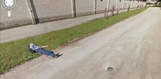 'Google Street View' neparastie attēli Latvijā – trešā diena