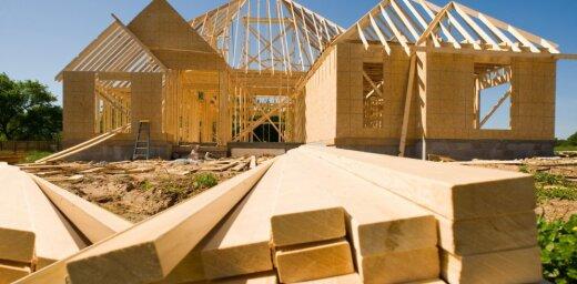 Būvniecības produkcijas apjoms otrajā ceturksnī pieaudzis par 30%
