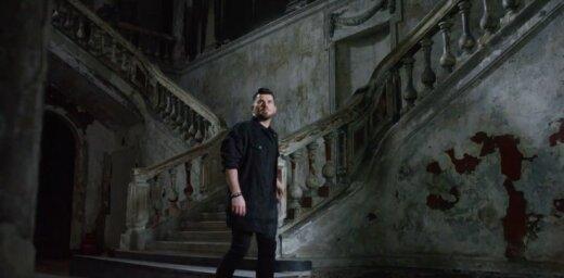 Busulis pārsteidz ar izdegušā Sanktpēterburgas baznīcā uzņemtu klipu