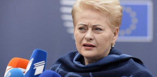 Литва: в президентский дворец пришла подозрительная посылка