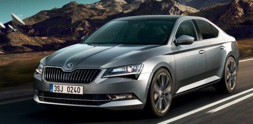 'Škoda' modernizējusi 'Superb' modeli