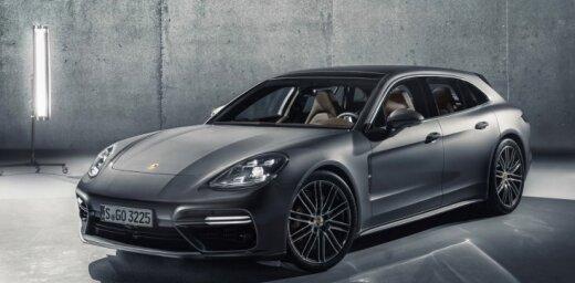 'Porsche' radījis universāli 'Sport Turismo' uz 'Panamera' bāzes