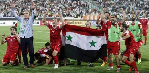 Video: Sīriešu komentētājs caur asarām gavilē par futbola izlases vēsturisko panākumu PK atlasē