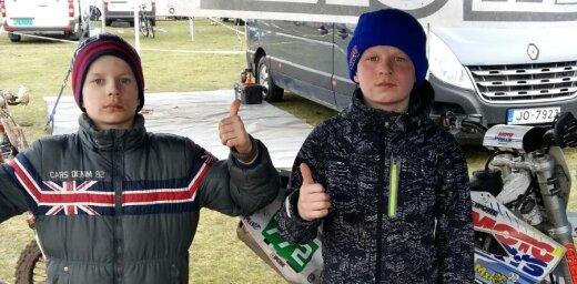 Brāļi Reišuļi Nīderlandē veiksmīgi iesāk starptautisko motokrosa sezonu