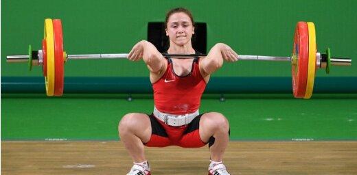 Коха попробовала в новой категории и сразу обновила национальный рекорд