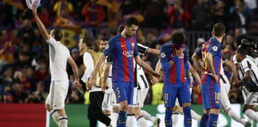 Barcelona Sergio Busquets, Neymar, Jordi Alba