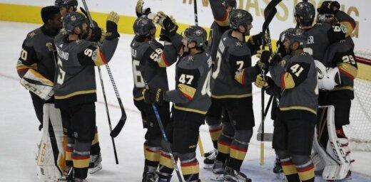 Debitanti Lasvegasas 'Golden Knights' labo NHL rekordu