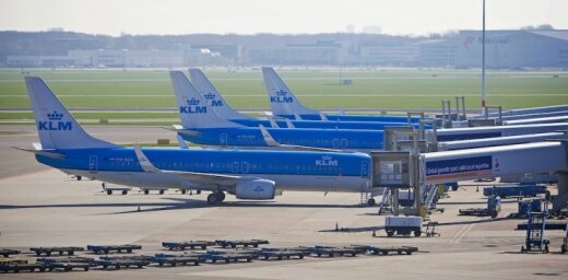 Глазго: у пилота лайнера KLM случился сердечный приступ во время взлета