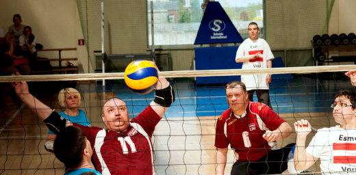 Paralimpiskās sporta dienas spilgtākie fotomirkļi