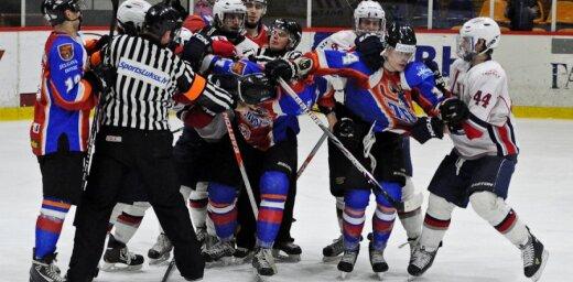 Jeņķu hokejisti izvicina dūres draudzības mačā ar jelgavniekiem