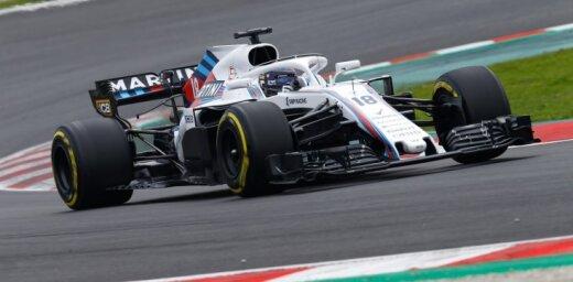 Sezonas beigās šķirsies 'Williams' F-1 komandas un viņu ģenerālsponsora ceļi