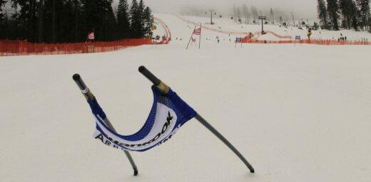 Kalnu slēpotāja Bondare ar jaunu FIS punktu rekordu izcīna piekto vietu slaloma sacensībās Somijā