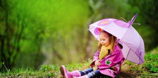 В пятницу ожидаются дожди и грозовые ливни