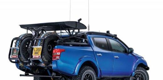 'TopGear' un 'Mitsubishi' kopīgi radījuši unikālu pikapu