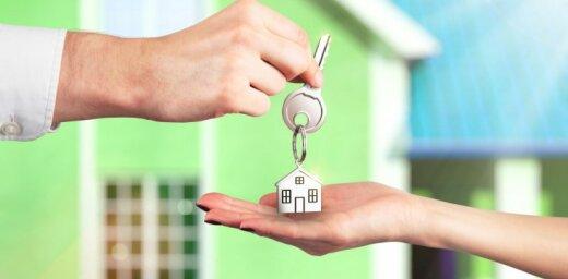 Mājsaimniecībām mājokļa iegādei izsniegto kredītu apmērs deviņos mēnešos sarucis par 1,9%