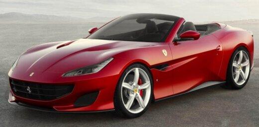 'Ferrari' vislētākais modelis 'Portofino'