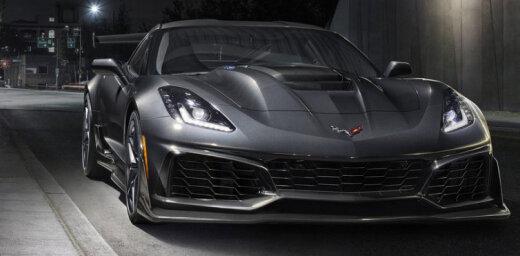 Jaunais 'Chevrolet Corvette ZR1' ar 765 ZS
