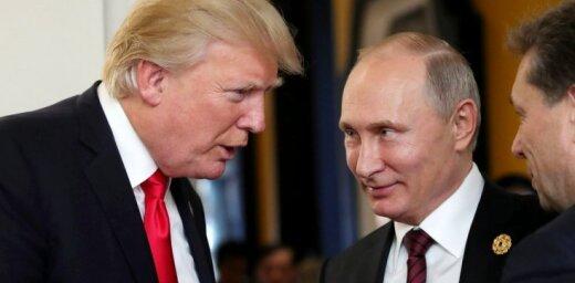 Putins un Tramps telefonsarunā apsprieduši Ziemeļkorejas krīzi