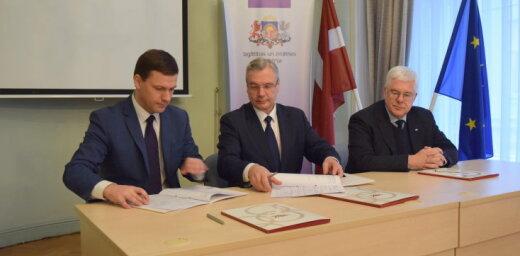 Paraksta vienošanos par Latvijas Jaunatnes olimpiādes rīkošanu Cēsīs