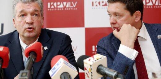 От KPV LV в переговорах о формировании КМ будут участвовать Кайминьш, Гобземс, Закатистов и Шмитс