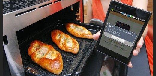 Astoņas mājsaimniecības iekārtas, ko var vadīt ar viedtālruni