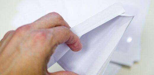 Выборы в Лиепае: в избирательном конверте — польские злотые и стихи