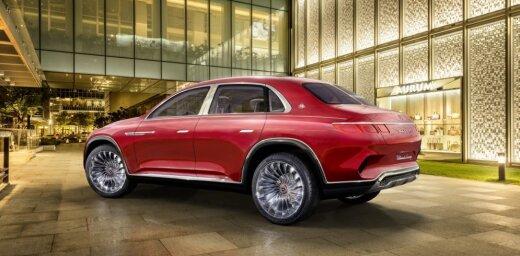 'Maybach' oficiāli prezentējis savu elektrisko apvidus auto
