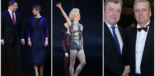 Foto: Svinīgi atklātas Igaunijas Nacionālās operas un baleta viesizrādes Rīgā