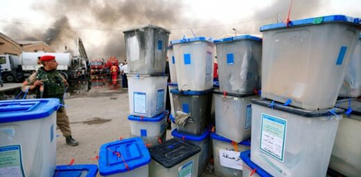Irākā noslēgusies parlamenta vēlēšanu balsu pārskaitīšana
