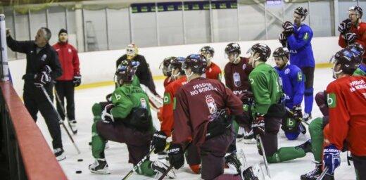 Latvijas izlases treniņos pirms PČ plānots piesaistīt lielu lērumu hokejistu